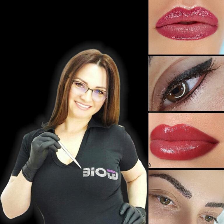 Interviu cu Eliza Nae, Master Trainer Internațional în dermopigmentare, cu o experiență de peste 22 de ani în industria beauty din România.